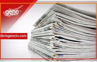 Türkiye Gazetelerinin Manşetleri - 8 Kasım 2019