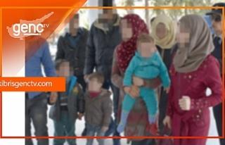 Ülkeye kanunsuz giriş yapan Suriye'liler tutuklandı