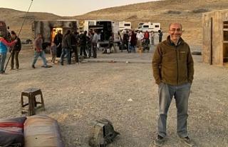 "Yönetmen Derviş Zaim, ""Flaşbellek"" filminin..."