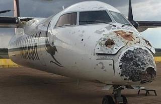 Zambiya'da uçağa yıldırım isabet etti, pilot...