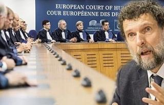 AİHM, Osman Kavala'nın serbest bırakılması...