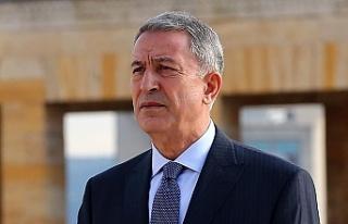 """Akar: """"Kendi haklarımızı da, Kıbrıslı kardeşlerimizin..."""