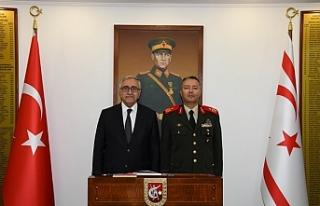 Akıncı, Kıbrıs Türk Barış Kuvvetleri Komutanı...
