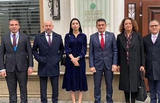 Bakan Oğuz'dan Azerbaycan'da temaslar
