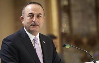 """Çavuşoğlu: """"Kıbrıs'ta bizim önerilerimize..."""