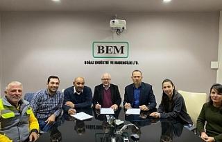 Dev İş ile BEM Ltd. arasında sözleşme