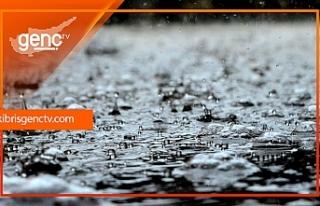 En çok yağış Çamlıbel'e
