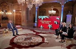 Erdoğan, Doğu Akdeniz'de yaşanan gelişmeleri...