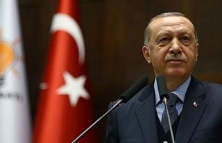 """Erdoğan: """"Ülkemizde ve KKTC'de yaşayan kardeşlerimizin..."""