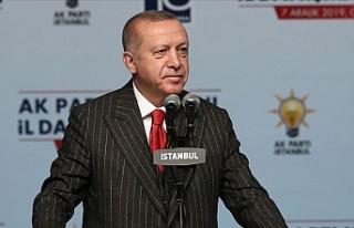 """Erdoğan: """"Uluslararası hukuktan doğan haklarımız..."""