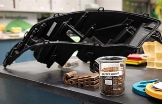"""Ford, """"kahve atıklarından"""" otomobil parçası..."""