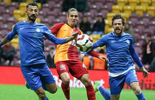 Galatasaray'a Tuzla şoku