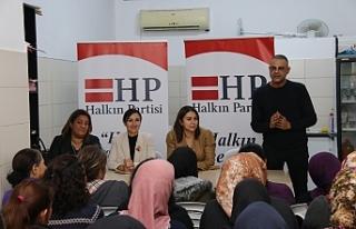 HP'den Surlariçi bölgesi kadınlarıyla buluşma...