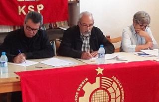 Kıbrıs Sosyalist Partisi 5. Olağan Kongresi yapıldı
