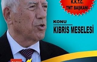 """""""Kıbrıs ve Kıbrıs davası"""" başlıklı konferans"""
