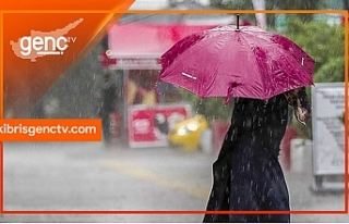 Meteoroloji Dairesi'nden yağmur uyarısı