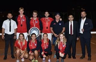 Nicosia Motors Tenis Ligi'nde mücadele sürüyor