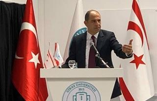 """Özersay: """"Hidrokarbon konusu ile Kıbrıs Türkü..."""