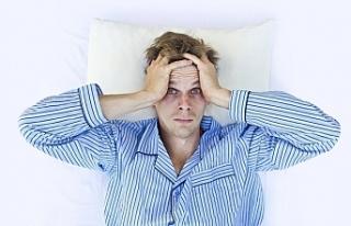 """Stres ve uykusuzluk """"karabasan""""a yol açıyor..."""