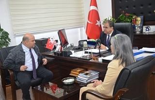 Sucuoğlu, Kamu Sen engelliler Komitesini kabul etti