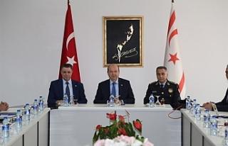 Tatar, Polis Genel Müdürü ile toplantı gerçekleştirdi