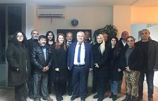 TKP-YG Lefkoşa ilçe başkanlığına Ayşe Buran...
