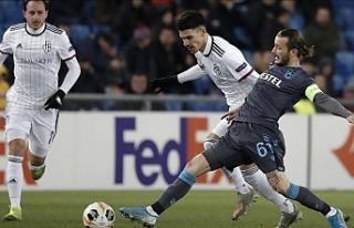 Trabzonspor sahadan yenik ayrıldı