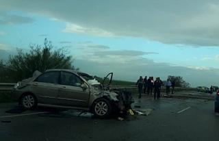 Turunçlu kavşağında kaza...1 kişi hayatını...