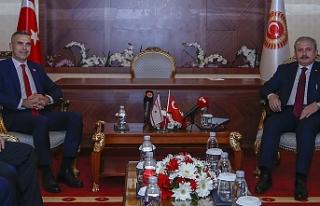 Uluçay, TBMM Başkanı Şentop ile görüştü