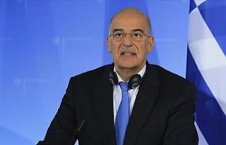 Yunan Dışişleri Bakanı Dendias Libya'daki...
