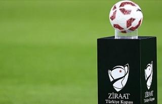 Ziraat Türkiye Kupası'nda son 16 turuna yükselen...