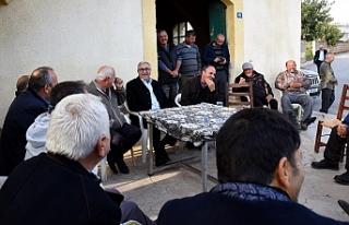 Akıncı'dan Karpaz köylerine ziyaret