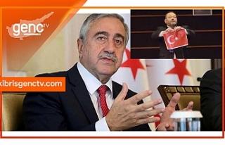 Akıncı, Yunan Milletvekilinin ap'de Türk bayrağını...