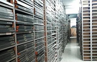 AKM Milli Kütüphane arşivi ve deposu, yeniden düzenlendi