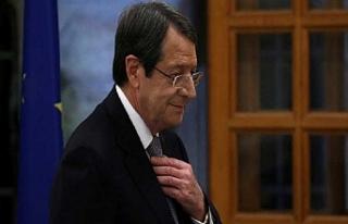 """Anastasiadis: """"Güney Kıbrıs'ın misillemeye..."""