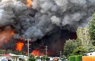 """""""Avustralya'daki yangınlar hava sıcaklığını..."""