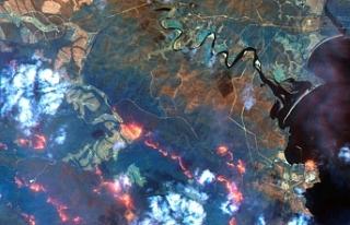 Avustralya'daki yangınların dumanları Dünya'nın...