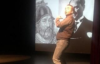 """Bir nefes Anadolu"" isimli tiyatro oyunu salı..."