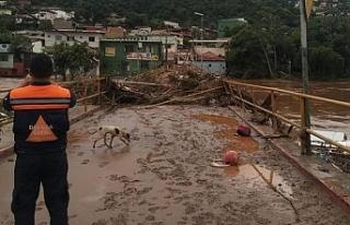 Brezilya'da sel ve heyelanlarda ölü sayısı 54'e...