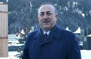 """Çavuşoğlu: """"Doğu Akdeniz'de sahada ve..."""