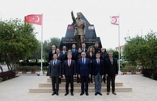 Çavuşoğlu, Sivil Savunma Teşkilatı Başkanlığı'nı...