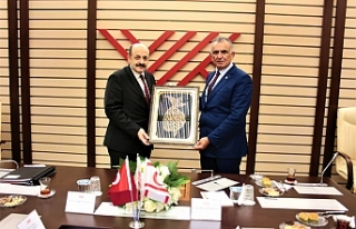 Çavuşoğlu, YÖK Başkanı Saraç ile görüştü