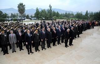 Dr. Küçük, Anıttepe'de düzenlenen törenle...