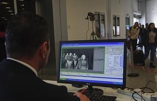 Ercan'a termal kamera ve karantina odası