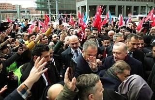 Erdoğan, Berlin'de