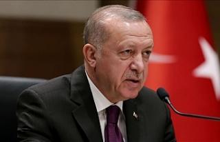 Erdoğan: Haklarımızı korumak için sonuna kadar...