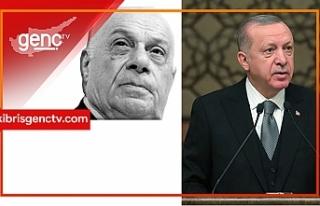 Erdoğan Rauf Denktaş'ı andı