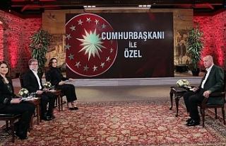 """Erdoğan: """"Yunan ve Rum ikilisinin bizi Akdeniz'e..."""