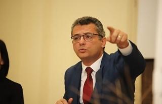 """Erhürman: """"Bizim vizyonumuz Kıbrıs Türk halkının..."""