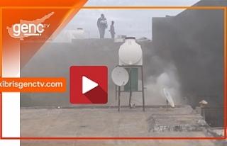Gazimağusa Suriçi'nde yangın